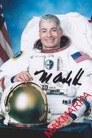 MAKMARKA SPACE RUSSIA 2018 M.VANDE HEI SOYUZ MS-06/ISS-53/54 AUTOGRAPH 1 FOTO (10Х15) - Autógrafos