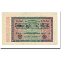 Billet, Allemagne, 20,000 Mark, 1923-02-20, KM:85a, TTB - 20000 Mark