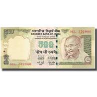 Billet, Inde, 500 Rupees, 2006, 2007, KM:99b, SPL+ - Inde