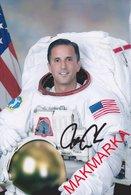 MAKMARKA SPACE RUSSIA 2018 J.ACABA STS-119 SOYUZ TMA-04M/ISS-31/32  SOYUZ MS-06/ISS-53/54 AUTOGRAPH 1 FOTO (10Х15) - Autógrafos