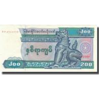 Billet, Myanmar, 200 Kyats, KM:75b, SUP+ - Myanmar