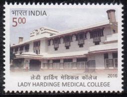 India MNH 2016 Lady Hardinge Medical College Education Health Medicine AIDS Surveillance Center, Famous For Microbiology - Inde