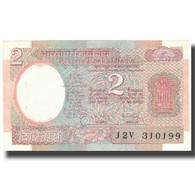 Billet, Inde, 2 Rupees, Undated (1976), KM:79f, SUP+ - Inde
