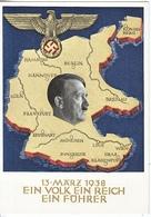 Propaganda Card   ANNEXED  AUSTRIA - Deutschland