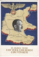 Propaganda Card   AUSTRIA  USED  TO  U.S.A. - War 1939-45