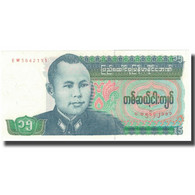 Billet, Birmanie, 15 Kyats, Undated (1996), KM:62, SPL+ - Myanmar