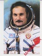 MAKMARKA SPACE USSR 1976 V.ZHOLOBOV SOYUZ-21 AUTOGRAPH 1 FOTO (10Х15) - Autógrafos