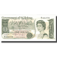 Billet, Saint Helena, 1 Pound, Undated (1981), KM:9a, NEUF - Saint Helena Island