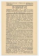 Doodsprentje: Dr. Berten Pil 1892-1940 Oude God - Religione & Esoterismo