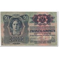Billet, Autriche, 20 Kronen, 1919, Old Date 1913-01-02, KM:53a, TTB - Autriche