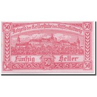 Billet, Autriche, Göttweig, 50 Heller, Rempart, 1920, 1920-12-01, SPL, Mehl:245 - Autriche