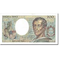 France, 200 Francs, 200 F 1981-1994 ''Montesquieu'', 1988, TTB+, Fayette:70.8 - 1962-1997 ''Francs''