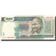 Billet, Inde, 500 Rupees, Undated (1987), KM:87b, SPL - Indien