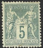 FRANCE--SAGE --TYPE II--MH - 1876-1898 Sage (Type II)