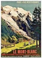 @@@ MAGNET - Mont Blanc Chemin De Fer Electrique - Publicitaires
