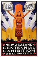 @@@ MAGNET - New Zealand Centennial Exhibiton Wellington - Publicitaires