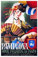 @@@ MAGNET - Pamplona Saint Fermin, 1949 - Publicitaires