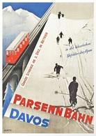 @@@ MAGNET - Parsenn Bahn Davos Suisse, Switzerland - Publicitaires