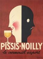 @@@ MAGNET - Pissis-Noilly, Le Vermouth Escport - Publicitaires