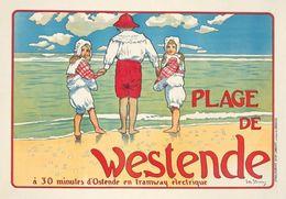 @@@ MAGNET - Plage De Westende - Publicitaires