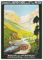@@@ MAGNET - Route De Pyrenees Haute Vallee De L'Ariege - Publicitaires