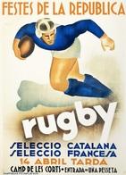 @@@ MAGNET - Rugby Seleccio Catalana - Publicitaires