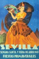 @@@ MAGNET - Sevilla Fiestas De Primavera, 1943 - Publicitaires