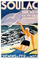 @@@ MAGNET - Soulac Sur Mer, France - Publicitaires