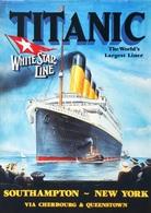 @@@ MAGNET - Titanic White Star Line, Southampton, New York - Publicitaires