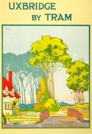 @@@ MAGNET - Uxbridge By Tram, England - Publicitaires