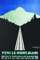 @@@ MAGNET - Vers Le Mont Blanc - Publicitaires
