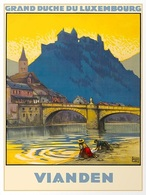 @@@ MAGNET - Vianden Grand Duche Du Luxembourg - Publicitaires