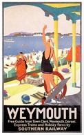 @@@ MAGNET - Weymouth, Dorset England - Publicitaires