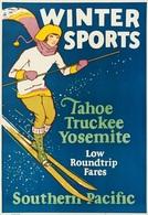 @@@ MAGNET - Winter Sports Tahoe Truckee Yosemite - Publicitaires