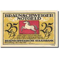 Billet, Allemagne, Brauns, 25 Pfennig, Eglise, 1921 SUP+ Mehl:155.2d - Deutschland