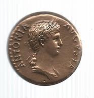 Les Monnaies Romaines,Trésor Du Patrimoine , Reproduction,  ANTONIA, Frais Fr 2.55e - Romaines