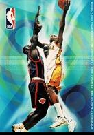 24F : Basketball NBA Live On ESPN Advertisement Postcard Type 1 - Basketball