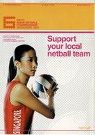 24F : Women Netball Advertisement Postcard - Postcards
