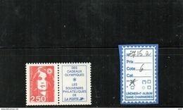 FRANCE - MARIANNE DU BICENTENAIRE N°2715a - 1989-96 Maríanne Du Bicentenaire