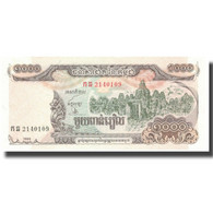 Billet, Cambodge, 1000 Riels, 1999, 1999, KM:51a, SPL+ - Kambodscha