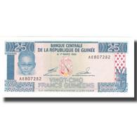 Billet, Guinea, 25 Francs, 1960, 1960-03-01, KM:28a, NEUF - Guinée