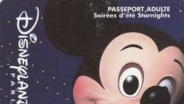 PASSEPORT DINEYLAND ...PASSEPORT   ADULTE  SOIREES D'ETE STARNIGHTS - France