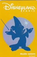 PASSEPORT DINEYLAND ...HAUTE SAISON ENFANT    GROUPE SCOLAIRE - France