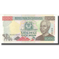 Billet, Tanzania, 1000 Shilingi, Undated (1993), KM:34, NEUF - Tansania