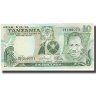 Billet, Tanzania, 10 Shilingi, Undated (1993), KM:6c, SPL - Tanzanie