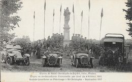 Oeuvre De St Saint-Christophe-le-Jajolet (Orne) Monument érigé En 1912 - Soldats Canadiens En Pèlerinage 1917 - Autres Communes