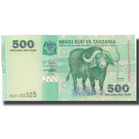 Billet, Tanzania, 500 Shilingi, Undated (2003), KM:35, SPL+ - Tanzania