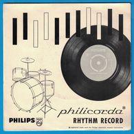 DISQUE 33 TOURS 1/3 PUBLICITAIRE PHILIPS PHILICORDA RHYTHM RECORD - Formats Spéciaux