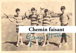 Chromo Chewing Gum ABC - BEATLES : Photo Autographe JOHN LENNON - Scans Recto-verso - Autres