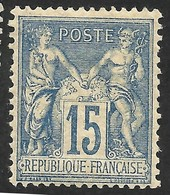 FRANCE --SAGE--TYPE II --MH - 1876-1898 Sage (Type II)